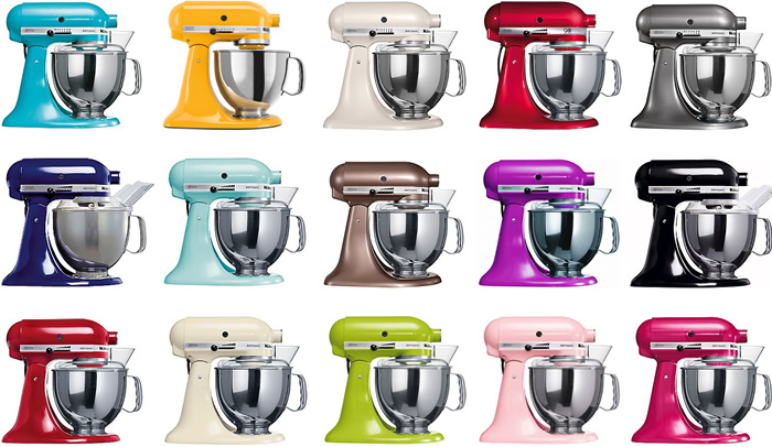 KitchenAid colori